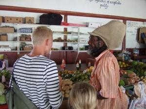Emil snakker og handler frugt, Port Elizabeth