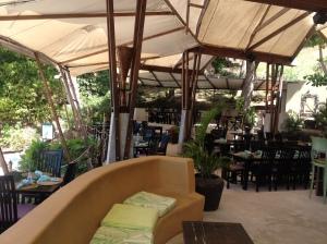 lounge på stranden, Bequia