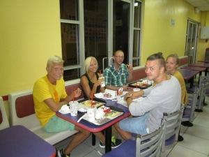 Burger king på St. Lucia