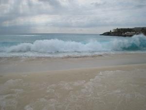 store bølger, Maho bay, St. Maarten