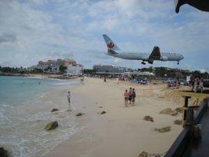 drinks og fly, St. Maarten